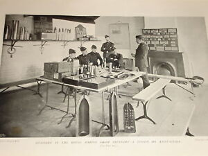1898-CHATHAM-LECTURE-GUNNERY-MARINE-LIGHT-INFANTRY-AMMO