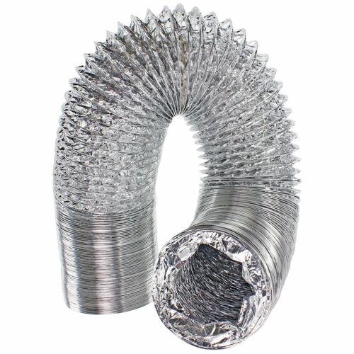 """2 x Colliers De Serrage Pour WHITE KNIGHT Sèche-linge 5 m Aluminium Tuyau D/'Tuyau 4/"""""""
