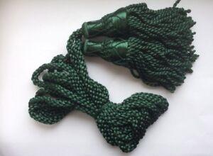 Pratique Soie Cordons Pour Cornemuse (vert)-afficher Le Titre D'origine