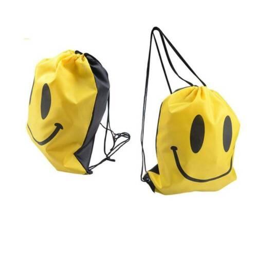 Drawstring Backpack Waterproof Gym PE Swim School Book Bag Dance Sport swimming