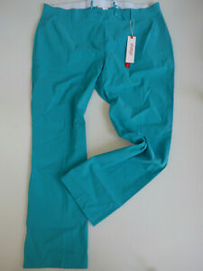 Sheego-Trousers-Cloth-Pants-Bengalin-Size-42-to-52-Teal-304-340-449