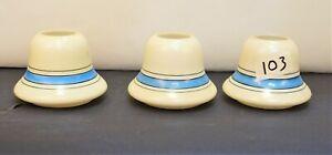 Slip-Shade-Art-Deco-Bowl-Dish-Shades-set-of-3