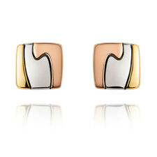 Georg Jensen Yellow, Red and White Gold Earrings - Fusion #1511A