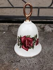 Danbury Mint American Rose bell Wendy Cussons Collection