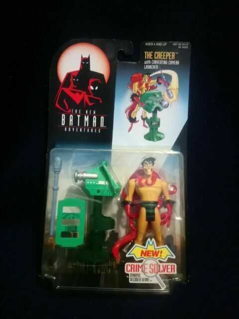 The New Batman Adventures Creeper Action Figure Kenner 1998 NEW ON CARD MOC