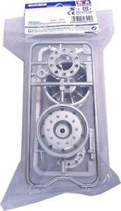 Tamiya 56519 Metal-Plated Wheel 30mm Hex Hub Matte Finish