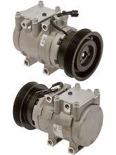 New AC A/C Compressor FITS: 2003 - 2008 Hyundai Tiburon V6 2.7L 1 Year Warranty