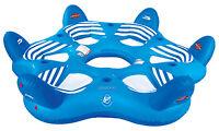 Sportsstuff 54-1985 Pool N' Beach 6 Person 6up Inflatable Lake Lounge Water Raft