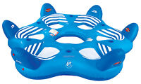 Sportsstuff 54-1985 Pool N' Beach 6 Person 6up Inflatable Lake Lounge Water Raft on sale