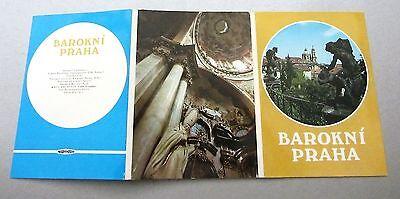 Gelernt Lot Sammlung Leporello 12x Postkarten Praha Prag Barokni Barock Ungelaufen Sparen Sie 50-70%