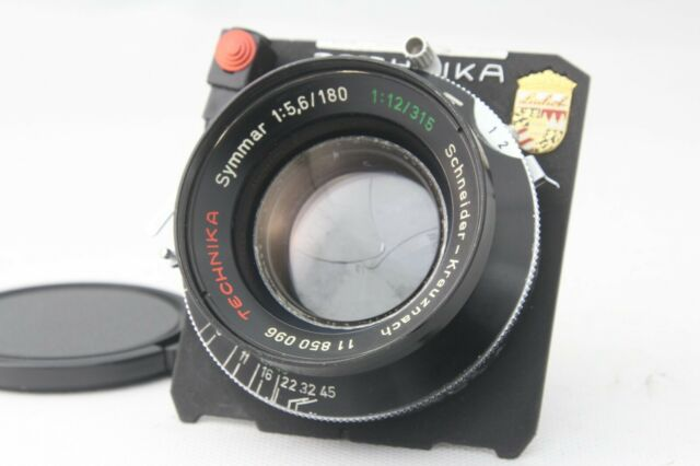 【Exc+++++】 Shineider Kreuznach Symmar 180mm f5.6 Linhof Shutter Lens from Japan