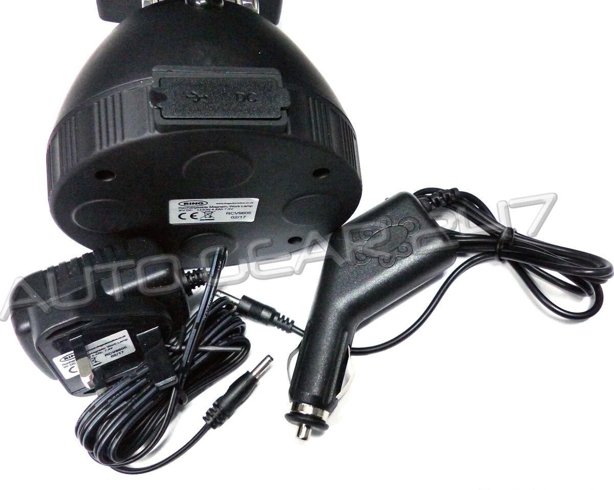 Ring RCV9605 AC AC AC DC magnetisch wiederaufladbar tragbar 5 LED 2.0a USB ab5fe0
