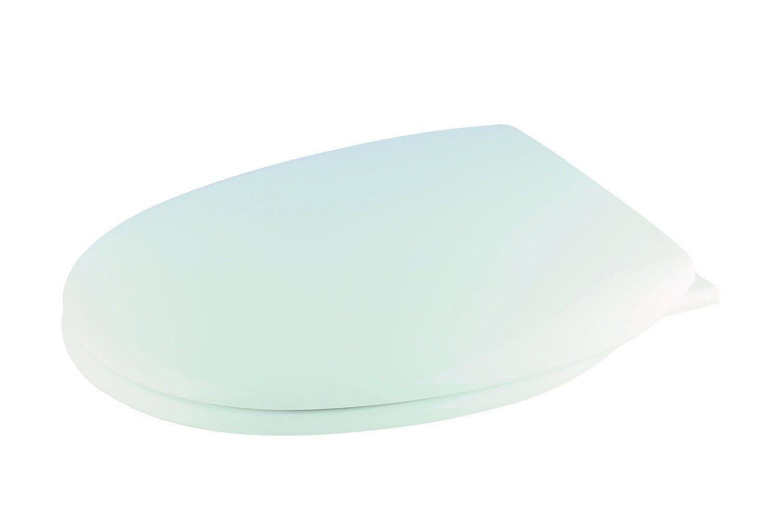 Croydex Antibacteriano Asiento de Inodoro con Cierre Lento Bisagras blancoo