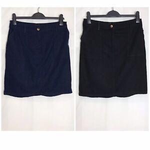 Next-Linen-Blend-Pocket-Elastic-Waist-Beach-Skirt-2-Colours-Size-8-26-n-65h