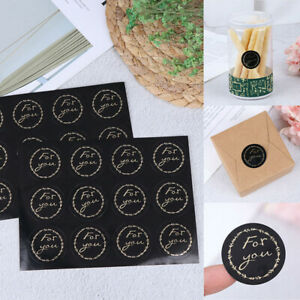 120pcs Round For you Sealing Label Stickers Baking DIY Party Gift Box StickersX