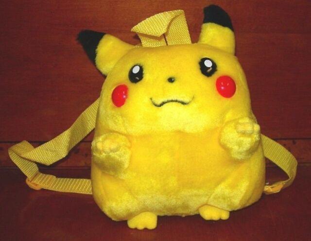 Pyramid Pokemon Pikachu Backpack Official Nintendo Zipper Pocket Plush Nwt 107
