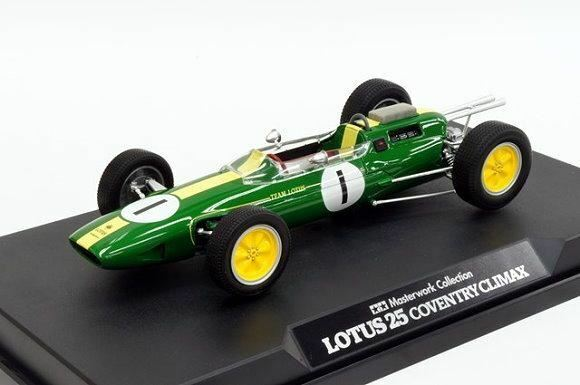 Tamiya Automotive Model 1/20 Car LOTUS 25 Coventry Climax No.1  Finished  21140
