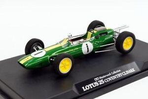 Tamiya Automotive Modèle 1/20 Voiture Lotus 25 Coventry Climax No.1 (fini) 21140