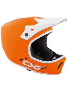 casque bmx orange