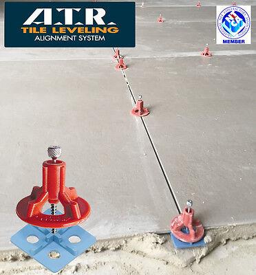 ATR Tile Leveling Alignment System DIY Basic KIT 2mm//3mm Cross Spacers