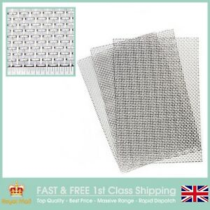 210 x 300mm Heavy Duty #6 x 3.3mm Hole x 0.9mm Wire Stainless Mesh 3 PACK=A4 x3