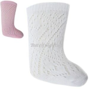 2ca3e153e Baby Girls Boys Pelerine Spanish Style Pink or White Knee Length ...