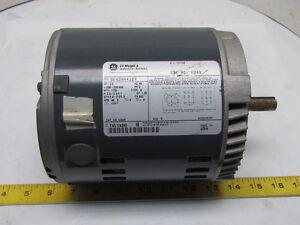 General electric 5k42hn4127 3ph ac motor 1 2hp 1725 rpm for 300 hp ac electric motor