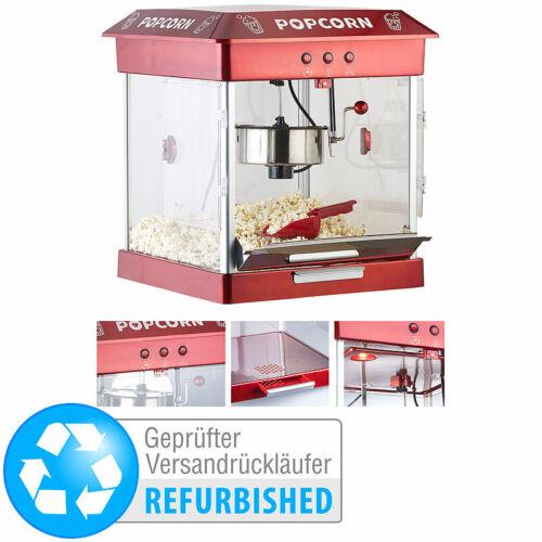Profi-Gastro-Popcorn-Maschine mit Edelstahl-Topf (Versandrückläufer)