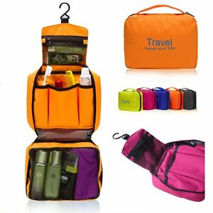 Mens Hanging Toiletry Travel Case
