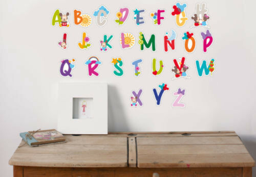 Disney Decofun Kids Mickey and Minnie Mouse Wall Decoration Alphabet Stickers