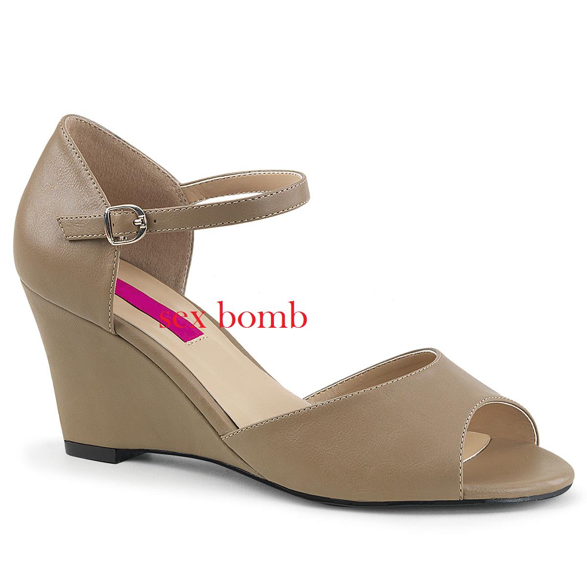 SANDALI ZEPPA tacco 7,5 dal 39 al 46 46 46 TORTORA OPACO cinturino zapatos SEXY glamour  precios ultra bajos