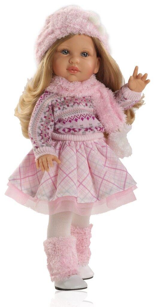 Künstler Puppe Spiel Puppe Audrey Soy Tu blond 42 cm Paola Reina 6062