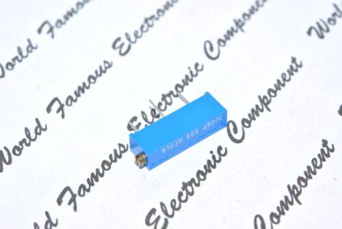 50 ohm 3006P Multiturn 15 Turns Potentiometer//Trimmer-TRIMPOT 1pcs-BOURNS 50R