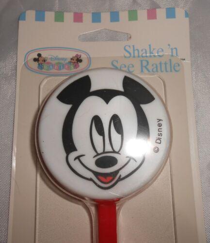 Disney Baby Mickey Mouse Playskool Shake N See Rattle1995 New in Package