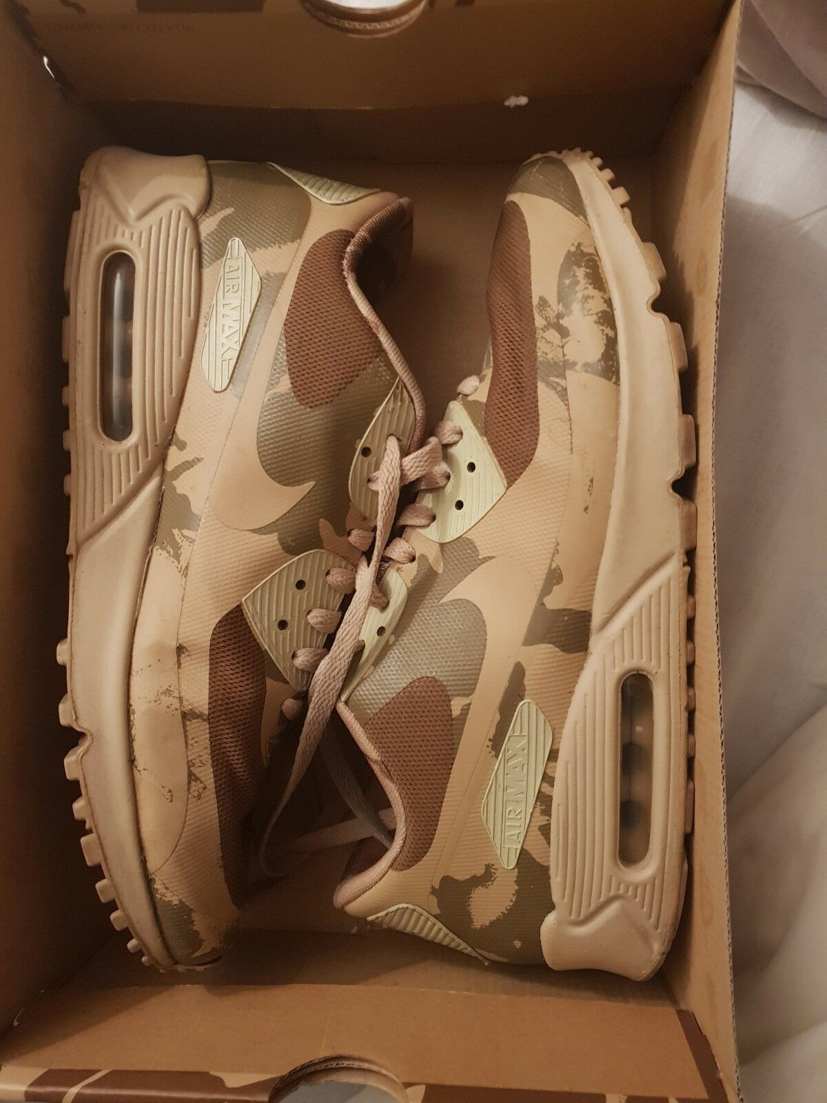 size 40 2b0bd 7f00c Nike Air Max 90 UK pays pays pays Camo RARE   Taille 9 729edf