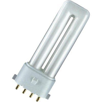 GE 9w Ampoule Biax-S//E 4 Broches 840 4000k Blanc Froid 37711 F9BX//840//4P SE 2G7