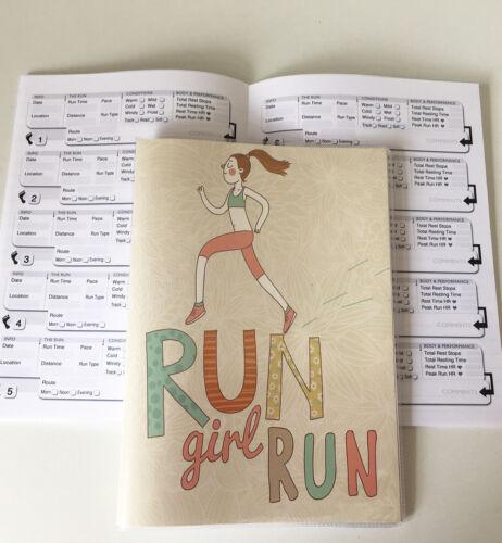 64 Page Running Log Book//Running Diary//Run//Tracker//Fitness Training Record 02