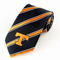 Tennessee Vols Stripe Mens Necktie University College Volunteers Gift Tie