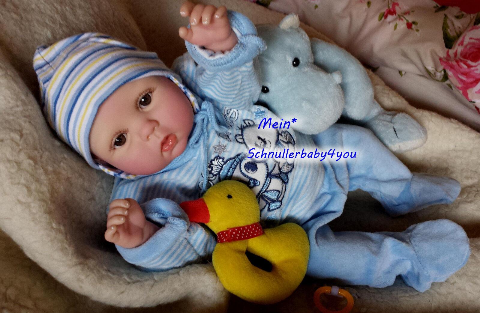 ✨ ♥Reborn Reallife Oster Baby BS von U.L Krautter Babypuppe Künstlerpuppe♥✨