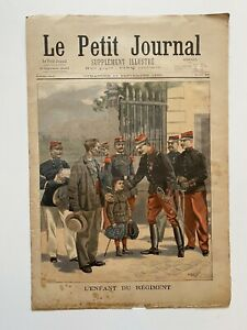 Supplement-Illustre-Le-Petit-Journal-11-09-1898-N-408-L-ENFANT-DU-REGIMENT