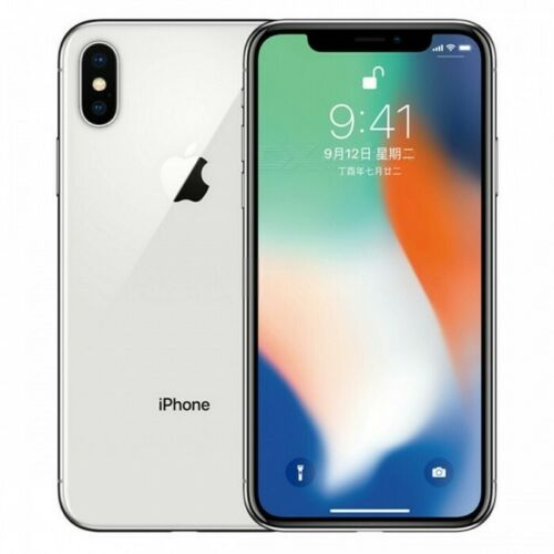 Apple iPhone X Unlocked Smartphone 12MP 4G LTE 64GB 256GB Hexa Core Full screen