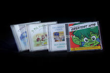 4 CD's for CHILDREAN - MUSIC AND BEDTIME STORIES - EX. CONDITION - LOADS OF FUN!