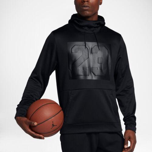 M Maglione Rise Nike Jordan Felpa Cappuccio Con Basket Uomo 23 Nero wz6Ip16q