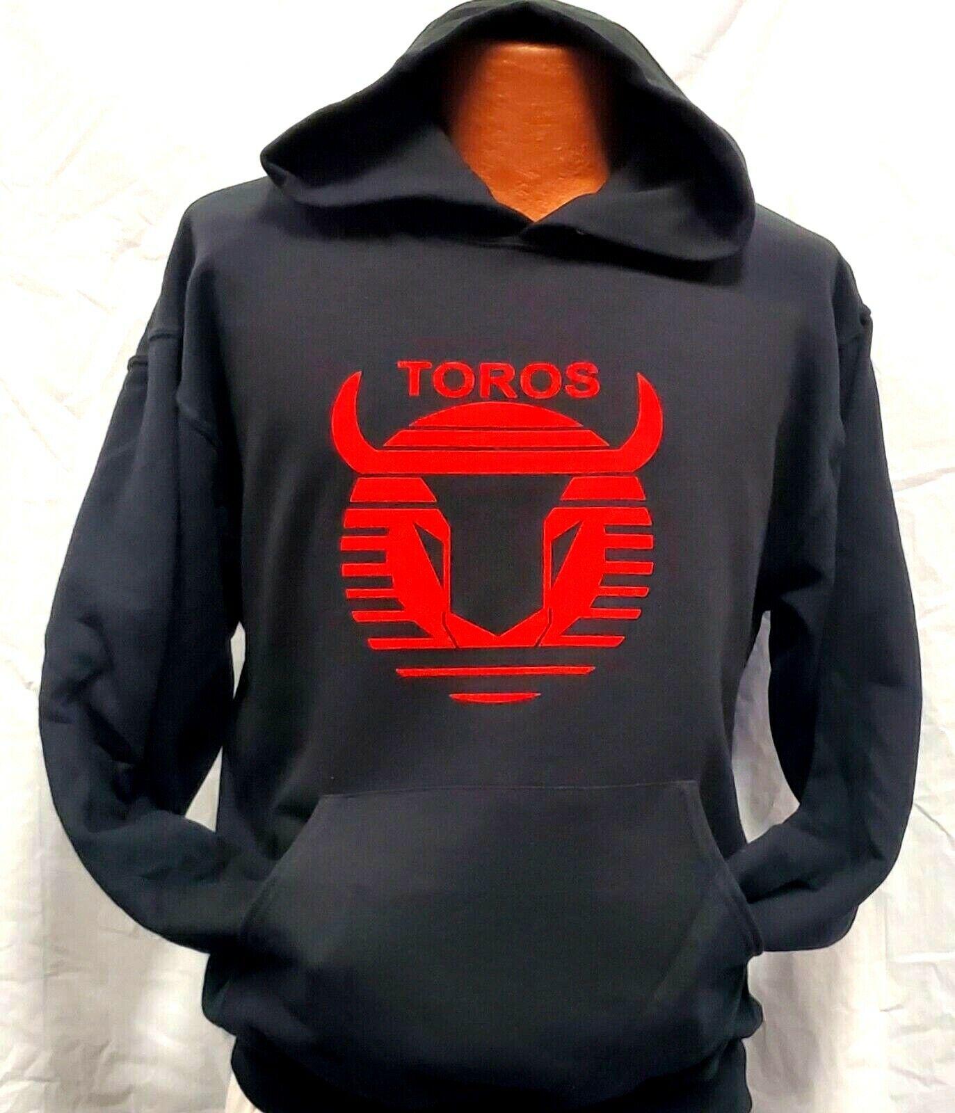 ! nuevo! Club Deportivo Toros Neza Negro Jersey Sudadera Con Capucha