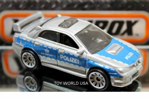 2020 Matchbox MBX Highway Speeders Exclusive 2007 Subaru WRX Impreza