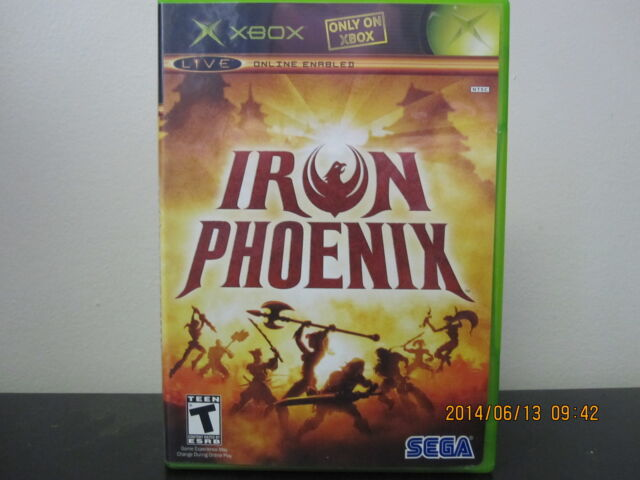 Iron Phoenix  (Xbox, 2005) *Tested/Complete