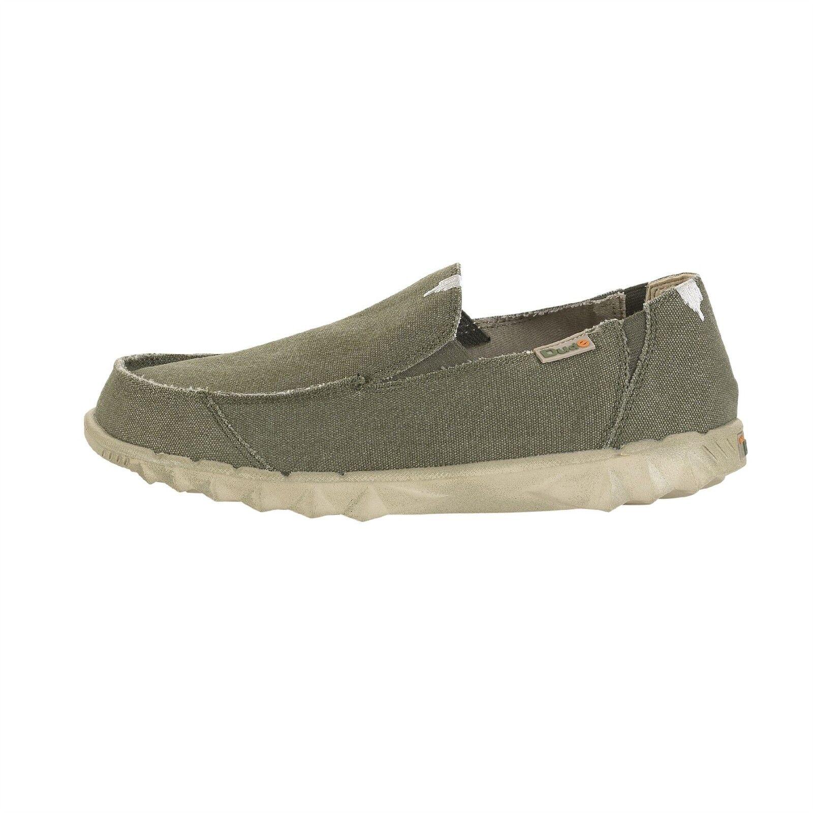 DUDE scarpe Farty Classic Mesh Musk  Slip Sulle scarpe   Mule in UK6 a UK15  costo effettivo