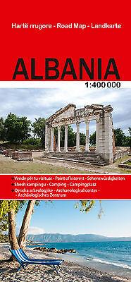 Energisch Reise Landkarte Albanien, 1 : 400.000