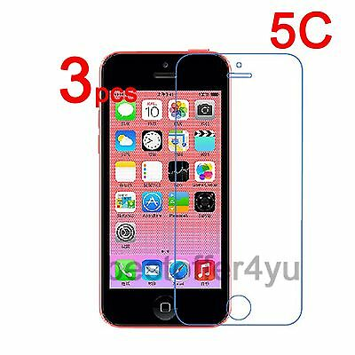 3 x Ultra Clear Screen Protector Guard Cover Protective Film For Apple iPhone 5C