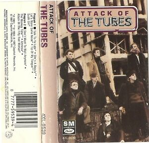 Attack-of-the-Tubes-The-Tubes-Cassette-SHE-039-S-A-BEAUTY-VG